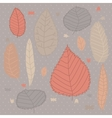 Autumn design background vector image vector image