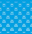 bottles milk pattern seamless blue vector image
