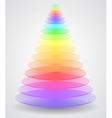 Color Pyramid vector image vector image