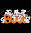 ghost theme image 5 vector image vector image