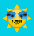 summer sale concept background eps10 vector image