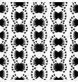 white on black folk art stripes seamless vector image vector image