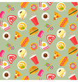 Food Pattern 2 vector image