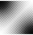 abstract geometric halftone dot pattern vector image vector image