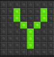 blocks in english capital letter y alphabet set vector image
