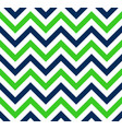 blue and green chevron retro decorative pattern vector image