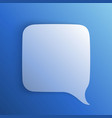 chat background blue art creative vector image vector image