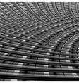 Design monochrome grid background vector image vector image
