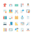 Education Colored Icons 6 vector image