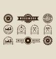 exclusive set woodwork logo design premium set