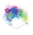 light color abstract watercolor background vector image vector image