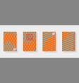 multicolor background of koi carp scales vector image