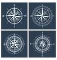 Set of compass roses vector image vector image