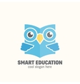 Smart Education Abstract Logo Template vector image vector image