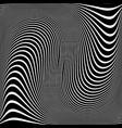 wavy lines design vector image vector image