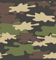 camouflage seamless pattern military repeat army vector image
