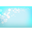 blue light holiday background vector image