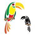 Hornbill vector image vector image