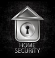 house security vector image vector image
