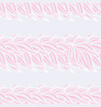 seamless floral background pattern in pink and vector image