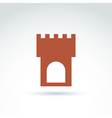 tower historical monument symbol ancien vector image
