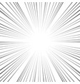 comic book action lines speed lines manga frame vector image vector image