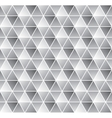 Geometrical seamless pattern in black and white vector image vector image