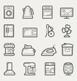 Home appliances vector image
