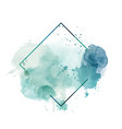 light green abstract watercolor background with po vector image vector image
