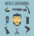 Mens Grooming vector image