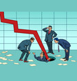 risks and problems in business concept vector image