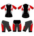 Sports t shirt vector image vector image