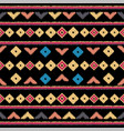 tribal ethnic seamless pattern ideal for vector image vector image