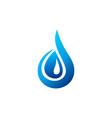 water drop logo blue waterdrop symbol letter d