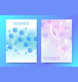 banners posters or brochures design templates vector image