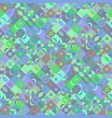 colorful seamless diagonal curved shape pattern vector image vector image