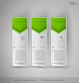 Design elements infographics layout and web pages vector image vector image