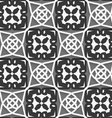 Geometrical Arabian ornament with white dark and vector image vector image