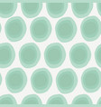 organic abstract green shapes on ivory background vector image