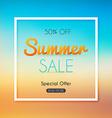 Summer Sale Banner Sale Poster Sale Flyer Sale vector image