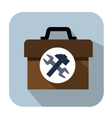 toolbox icons vector image vector image