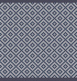 winter scandinavian christmas x-mas knitted vector image vector image
