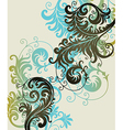7floral line 42 1 vector image vector image