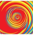 Colorful Abstract Psychedelic Art Background vector image vector image