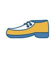elegant shoe icon vector image vector image