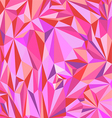 Low polygon abstract pink Triangle Geometrical vector image