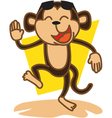 Monkey Party vector image