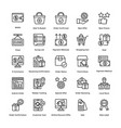shopping colored icons set 5 vector image vector image