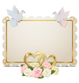 Wedding Board vector image