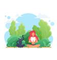 yoga lotus pose young woman sitting in lotus zen vector image